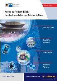 Korea auf einen Blick - AHK Korea