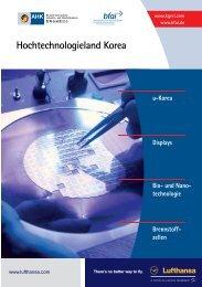 Hochtechnologieland Korea - AHK Korea