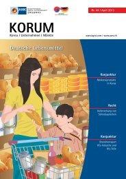 Deutsche Lebensmittel - AHK Korea