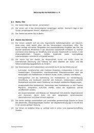Satzung des korientation e. V. § 1 Name, Sitz (1) Der Verein trägt ...