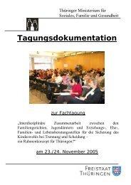 Tagungsdokumentation: Interdisziplinäre Zusammenarbeit zwischen ...