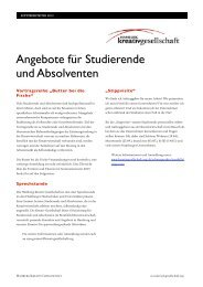 Workshopprogramm der Hamburg Kreativ Gesellschaft SoSe 2013