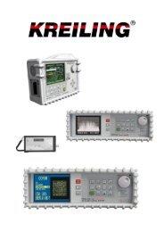Download wichtigste Messwerte an der Antennenanlage - Kreiling ...