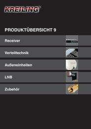 PRODUKTÜBERSICHT 9 - Kreiling Technologien