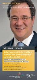 Aufsteigerrepublik Deutschland - Universität Augsburg