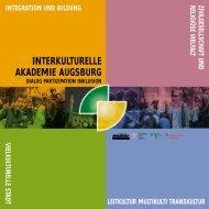 interkulturelle akademie augsburg - Kulturhaus Kresslesmühle