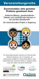 VeranstaltungsreiheIntegration0 (Page 3) - Kulturhaus Kresslesmühle
