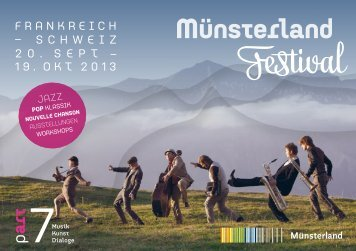 Programmheft Münsterland Festival 2013 part 7