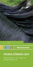 PFERDE-STÄRKEN Münsterland 2013