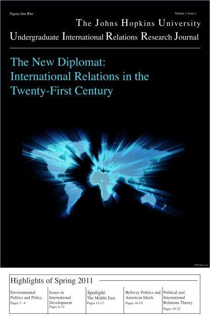 International Relations in the Twenty-First Century - Krieger School ...