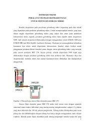 Instruksi teknis peralatan filtrasi ekstraksi panas untuk ... - kriemhild