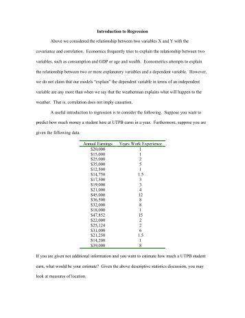 econometrics notes Applied econometrics using matlab james p lesage department of economics university of toledo october, 1999.