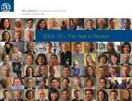 2009-2010 - Kroc Institute for International Peace Studies ...
