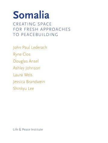 Somalia - Kroc Institute for International Peace Studies - University ...