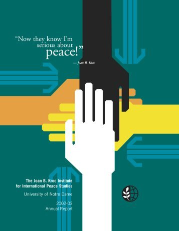 2002-2003 - Kroc Institute for International Peace Studies ...