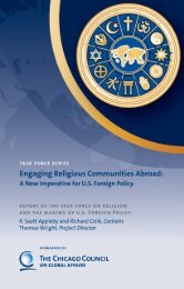 Engaging Religious Communities Abroad - Chicago Council on ...