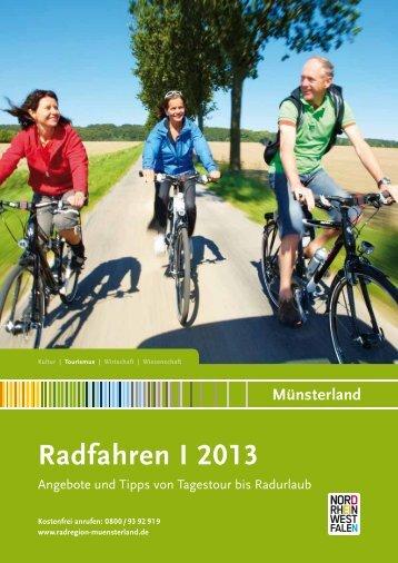 Radfahren und Radreisen Münsterland 2013