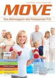 Das Aktivmagazin des Fitnessclubs P 15 - P15 Fitnessclub
