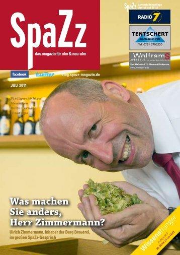 Ulrich Zimmermann im Interview - Stadt Ehingen