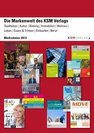 Mediadaten 2013 - KSM Verlag