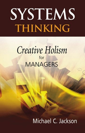 Systems Thinking - Department of Knowledge Technologies