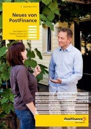 Neues von Postfinance - Das Magazin f