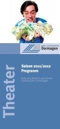 Theater Saison 2011/2012 Programm - Kulturbüro Dormagen