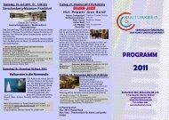 programm 2011 - Kulturkreis Oer-Erkenschwick eV