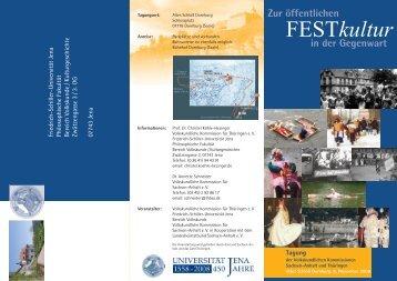 können Sie die Einladung als pdf-Datei herunterladen ... - Kulturserver