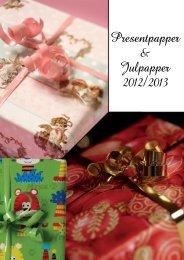 Presentpapper & Julpapper 2012/2013 - Apsis