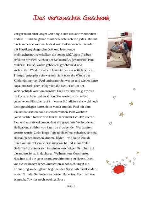 Das Vertauschte Geschenk Ww Homepage