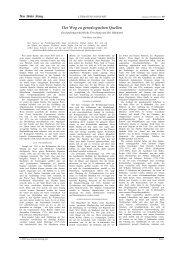 Der Weg zu genealogischen Quellen