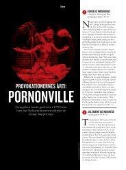 Provokationernes årti: Pornonville - Kulturministeriet