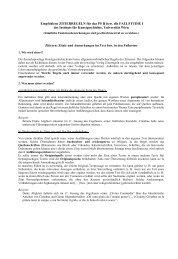 Empfohlene ZITIERREGELN für das PS II bzw - Institut für ...