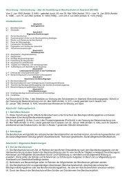 Schulordnung – über die Ausbildung an Berufsschulen im ... - Kursnet