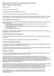 Externen-Prüfungsordnung Berufskolleg - Kursnet