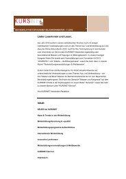Newsletter 11/2012 - Kursnet - Bundesagentur für Arbeit