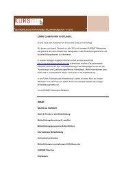 Newsletter 01/2013 - Kursnet - Bundesagentur für Arbeit