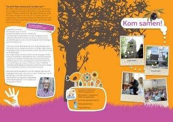 Kennismakingsfolder PKN wijkgemeente De Brug