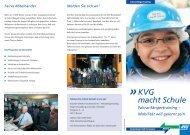 KVG macht Schule - Fahranfängertraining