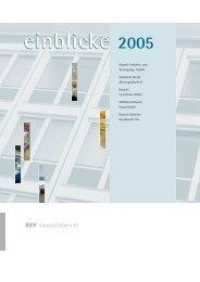 aktivitäten 2005 - KVG