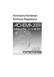 Technische Richtlinien Technical Regulations