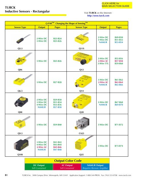 turck inductive sensors rectangular output color code 3-Way Switch Wiring Diagram