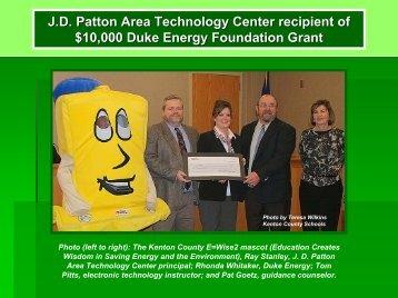 J.D. Patton Area Technology Center recipient of ... - Kentucky Tech