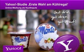 """Studie """"Erste Wahl am Kühlregal"""""""