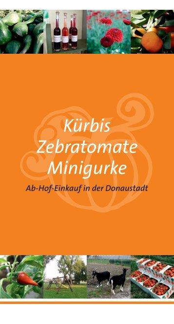 Kürbis Zebratomate Minigurke - Lokale Agenda 21 Wien