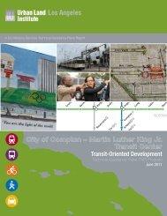 MLK Transit Center Station - ULI Los Angeles - Urban Land Institute