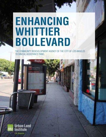 Whittier Boulevard - ULI Los Angeles - Urban Land Institute