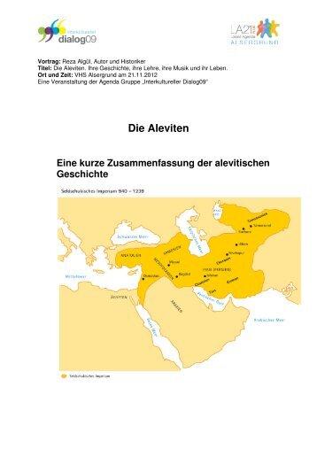 Vortrag von Reza Algül: Die Aleviten - Lokale Agenda 21 Wien