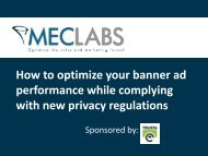 How to optimize your banner ad performance while complying with ...